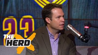 LeBron could be better than Jordan in one area - Lee Jenkins explains   THE HERD (FULL INTERVIEW)