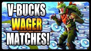 V-Bucks Wager Matches à Fortnite Battle Royale? LE JEU