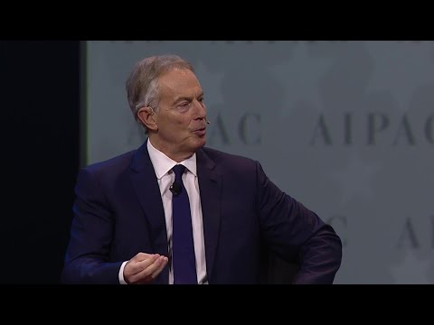 Former British PM Tony Blair Interview