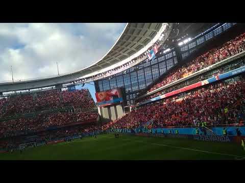 Contigo Perú estadio de Ekatimburgo. Peru vs Francia