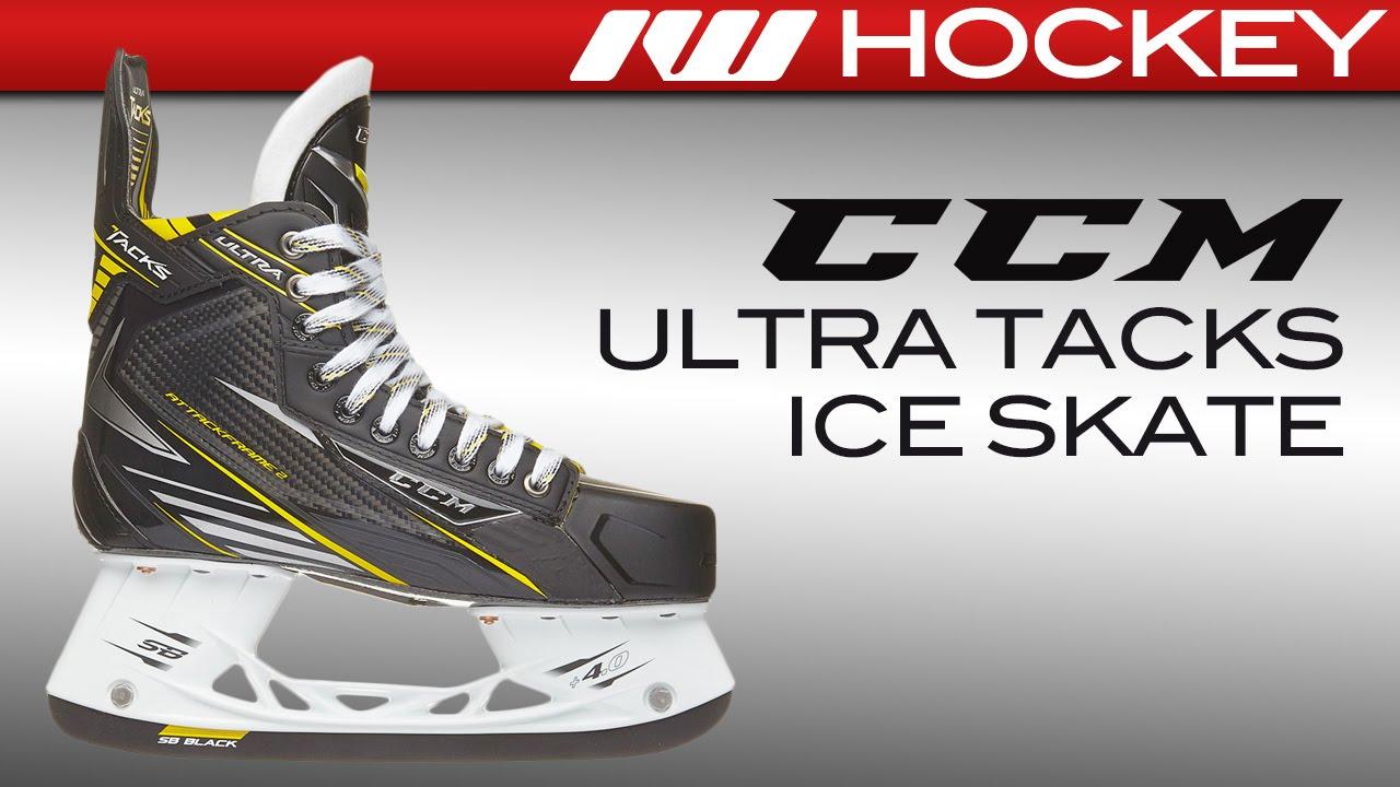 fe56239eea2 CCM Ultra Tacks Skate Review - YouTube