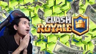 TUTORIAL MENDAPATKAN PULSA JUTAAN RUPIAH GRATIS UNTUK GEMS CLASH ROYALE !! Clash Royale Indonesia