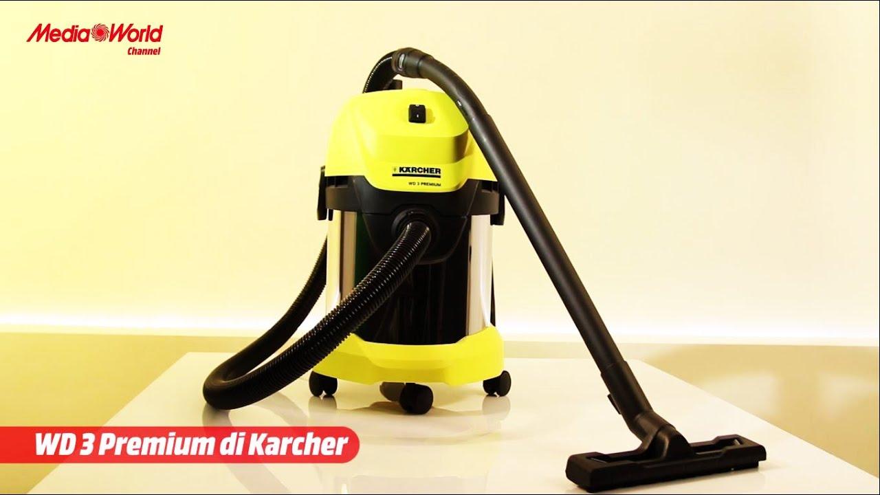 karcher wd3 premium l 39 aspiratore multifunzione youtube