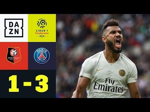 Premieren-Tor für Joker Eric Maxim Choupo-Moting: Stade Rennes - Paris SG 1:3 | Ligue 1 | DAZN