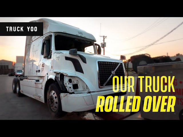 Total Loss. Roll Over on Our New Truck