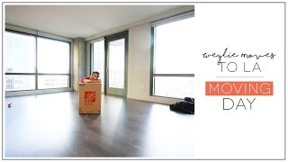 Weylie Moves to Los Angeles | Moving Day | ilikeweylie