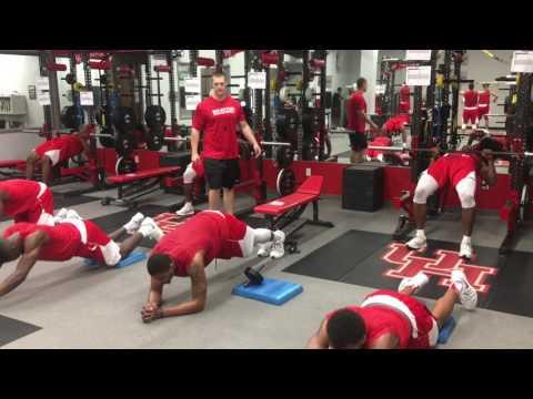 University of Houston Men's Basketball Team (2017-18) Summer Workouts