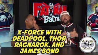 X-FORCE W/DEADPOOL, THOR RAGNAROK, AND JAMES BOND