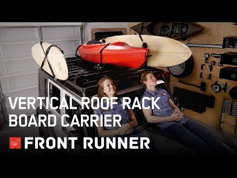 VERTICAL ROOF RACK BOARD CARRIER - By Front Runner