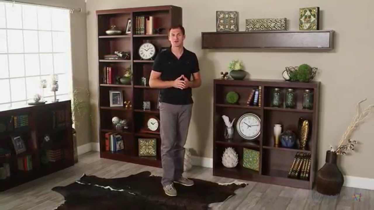 Belham Living Jefferson Double Wide Bookcase - Espresso - 48H In. - Product  Review Video - YouTube