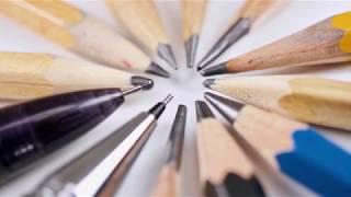 Базовый урок. Рисунок карандашом. Как выбрать карандаш?