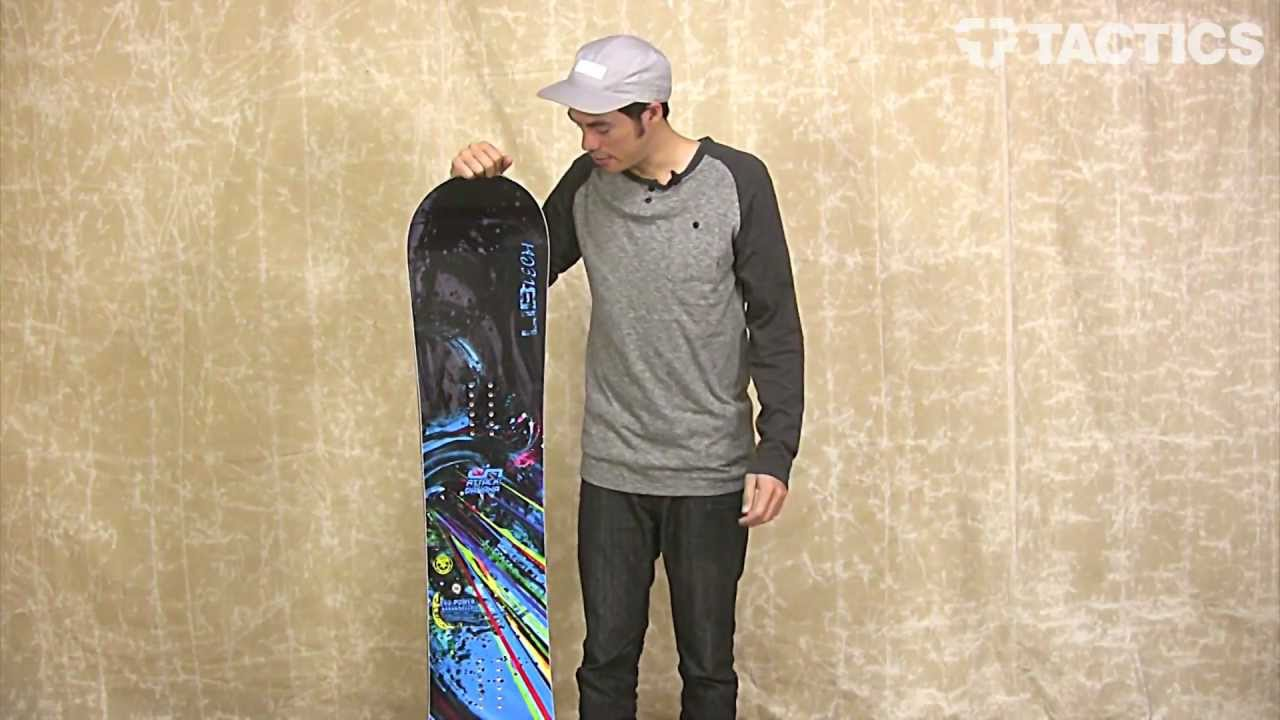 Lib Tech Attack Banana Ec2btx Snowboard 2013 Review Tactics Com Youtube