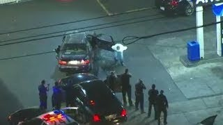 Police Chase Los Angeles August 18 2017