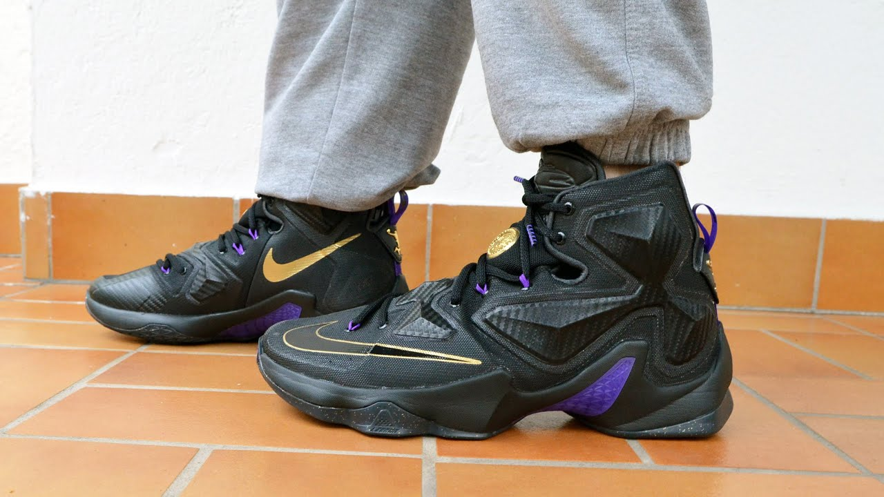 Nike LeBron XIII Pot of Gold Unboxing +