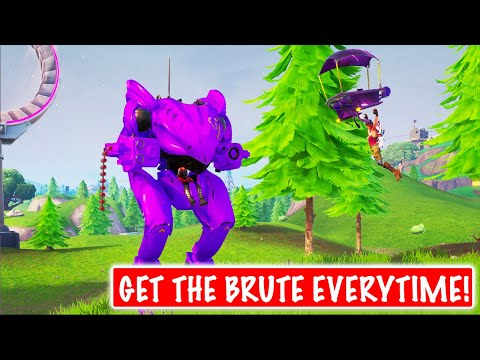 how-to-get-the-new-brute-mech-vehicle-first-everytime!-in-season-x-(fortinite-battle-royale)