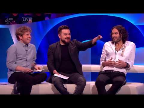 Alex, Josh and Russell Brand Get Their Handwriting Analysed - The Last Leg