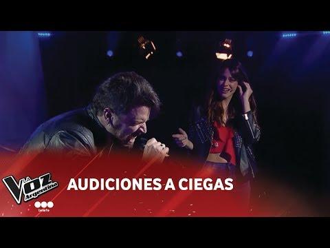 "Sebastían Pérez - ""Crying"" - Aerosmith - Audiciones A Ciegas - La Voz Argentina 2018"