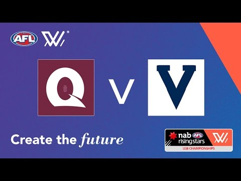 Queensland v Vic Country - NAB AFL Women's Under 18 Championships