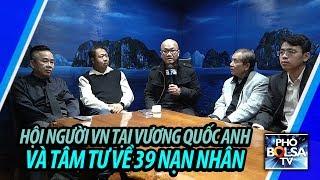 Hội Người Việt Nam tại Vương Quốc Anh nói về 39 nạn nhân xấu số