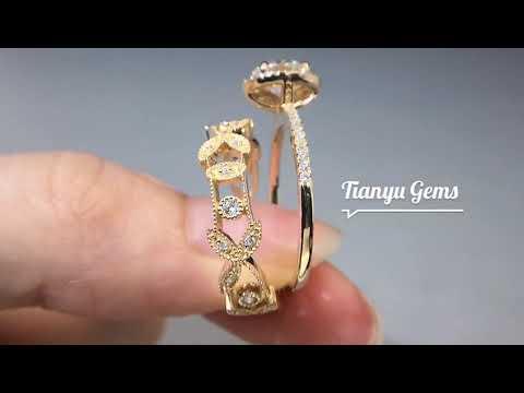 vintage-designs-solid-gold-bling-bling-1-carat-diamond-moissanite-halo-engagement-ring-sets