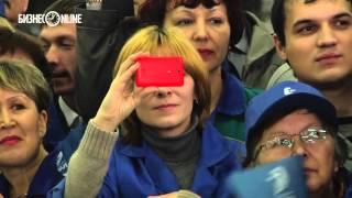 Репортаж недели #67: Владимир Путин в Челнах. Как это было(Главным событием уходящей недели в республике стал визит в автоград Владимира Путина. Подробнее: http://www.busin..., 2016-02-13T19:58:37.000Z)