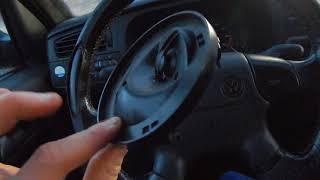 VW GOLF 3 LAUTSPRECHER ARMATURENBRETT AUSBAUEN TUTORIAL