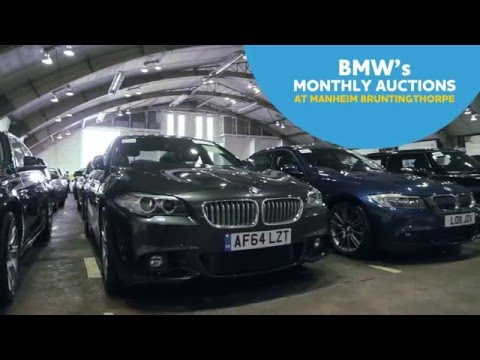 Manheim Bruntingthorpe BMW Open Sales