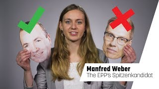 Spitzenkandidat picks: Manfred Weber, EPP (EURACTIV Explains)