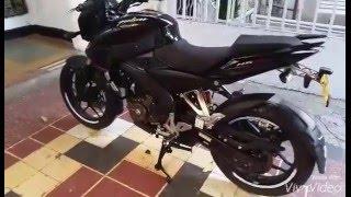 MOTO PULSAR 200NS MODELO 2016