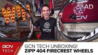 Unboxing The Zipp 404 Firecrest Carbon Clincher Wheels
