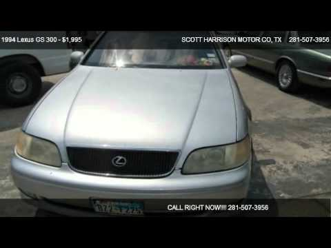 1994 lexus gs 300 base for sale in houston tx 77038
