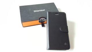 Unboxing Shieldon étui iPhone 6S en Cuir Véritable