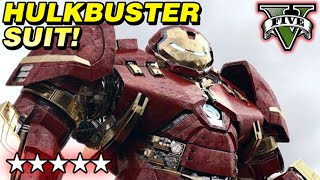 GTA 5 Mod: Iron Man HULKBUSTER WEAPONS - PC Gameplay Live Stream (1080p)