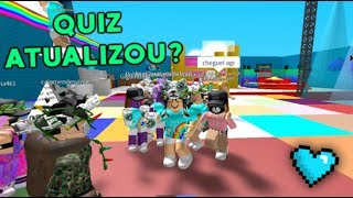 ME AND MY SUBSCRIBERS ON MY ROBLOX QUIZ UPDATED! 💙☕