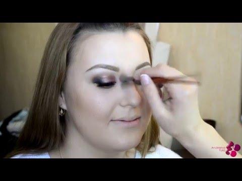 Свадебная прическа и макияж в Рязани