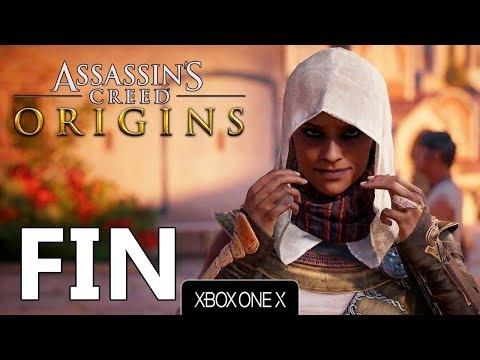ASSASSIN'S CREED ORIGINS FR #FIN (Xbox One X | 4K)