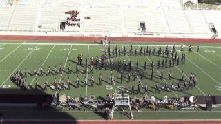 NSHS Marching Band Mirage Show UIL 2010