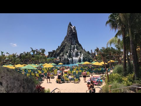 🔴 LIVE:  Universal's Volcano Bay Water Theme Park! 🌋🏝🗿|| Come join us in the Florida sun!