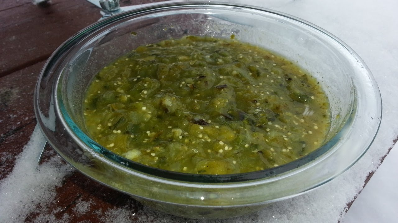 Cocina Verde Recipes Salsa Verde Fire Roasted Tomatillo Salsa Recipe Best Green Sauce Recipe