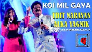 Koi Mil Gaya || Kuch Kuch Hota Hai || Udit Narayan || Alka Yagnik || Duet Song || Live In Concert