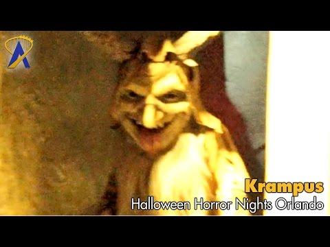 Krampus walk-through at Halloween Horror Nights at Universal Orlando 2016