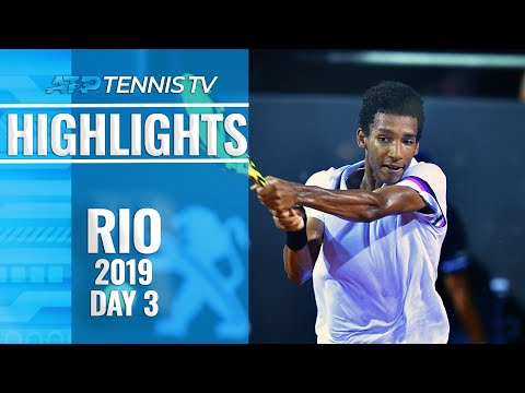 Young guns Auger-Aliassime, Munar shine in Rio   Rio 2019 Highlights Day 3
