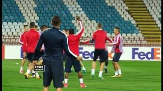Liga Evrope: FK Crvena zvezda - trening pred Arsenal