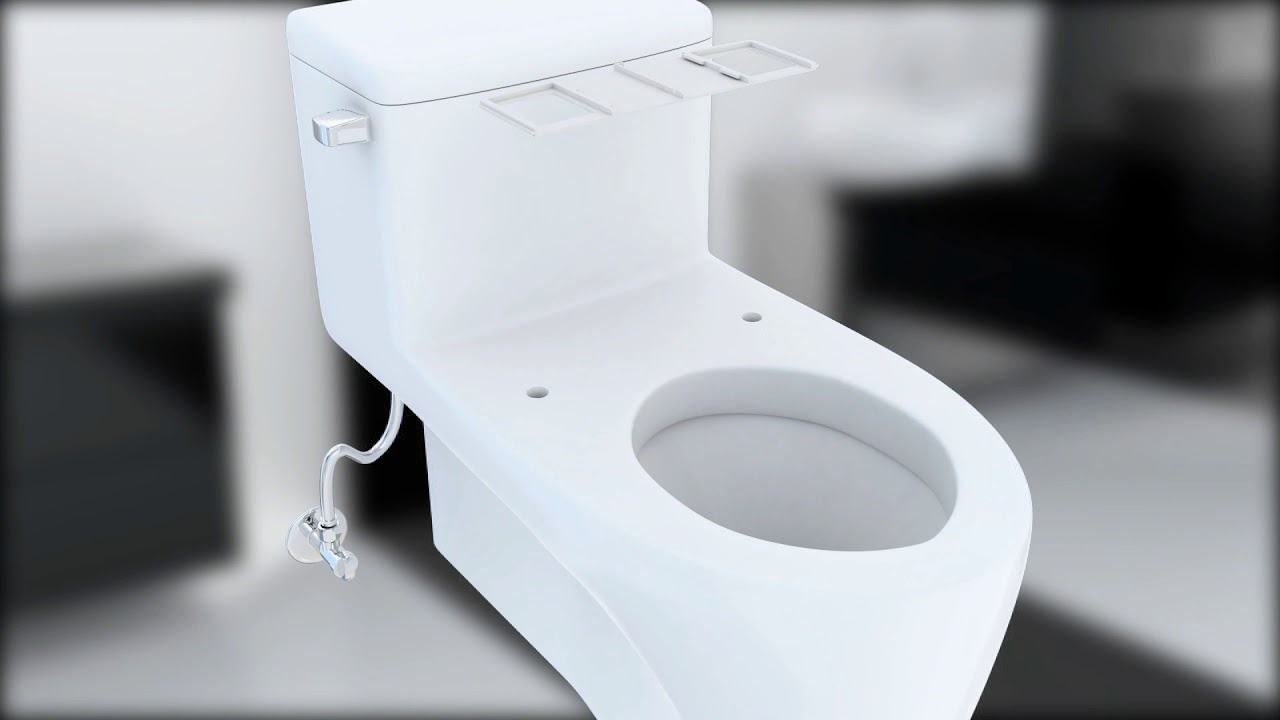 Bio Bidet Uspa 6800 Smart Bidet Toilet Seat Youtube