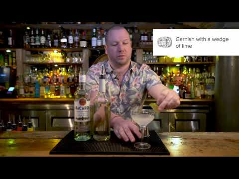 Daiquiri Cocktail Perfect Serve - From The Basics of Rum e-learning course by CPL Learning