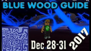 ROBLOX Lumber Tycoon Blue Wood Maze Guide 2017 December 28