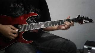 IN FLAMES Wallflower Guitar Cover NEW SONG 2016