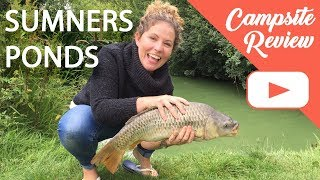 SUMNERS PONDS - campsite review and first time fishing