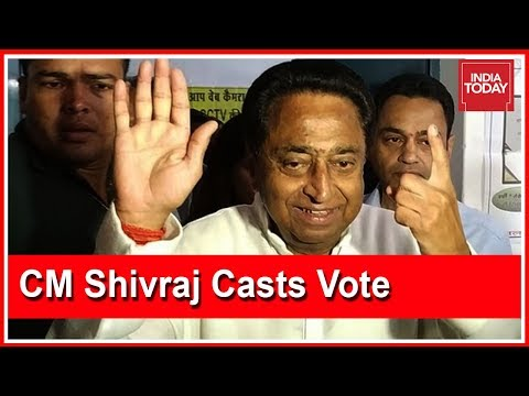 Watch: Congress' Kamal Nath Casts Vote In Chhindwara In #MadhyaPradeshElection