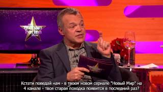 The Graham Norton Show with Ant & Dec, Jamie Dornan, Aaron Paul, Naomi Campbell (русские субтитры)